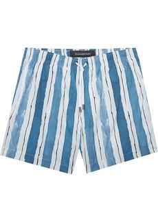 Ermenegildo Zegna striped swim shorts