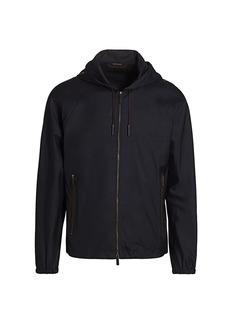 Ermenegildo Zegna Traveler Leggerissimo Zip-Front Jacket