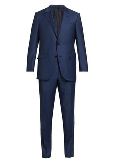 Ermenegildo Zegna Trofeo Solid Wool Suit