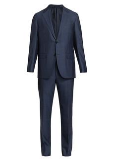 Ermenegildo Zegna Trofeo Striped Wool & Silk Suit