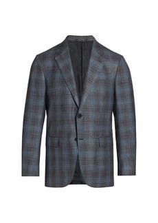 Ermenegildo Zegna Windowpane Jacket