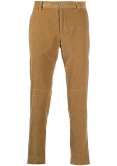 Etro mid-rise straight leg corduroy trousers
