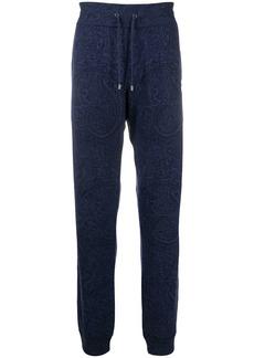 Etro paisley print cashmere sweatpants
