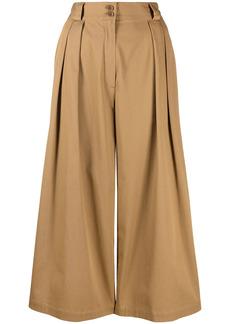 Etro stretch-cotton culottes