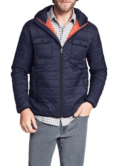 Faherty Atmosphere Padded Puffer Shirt Jacket