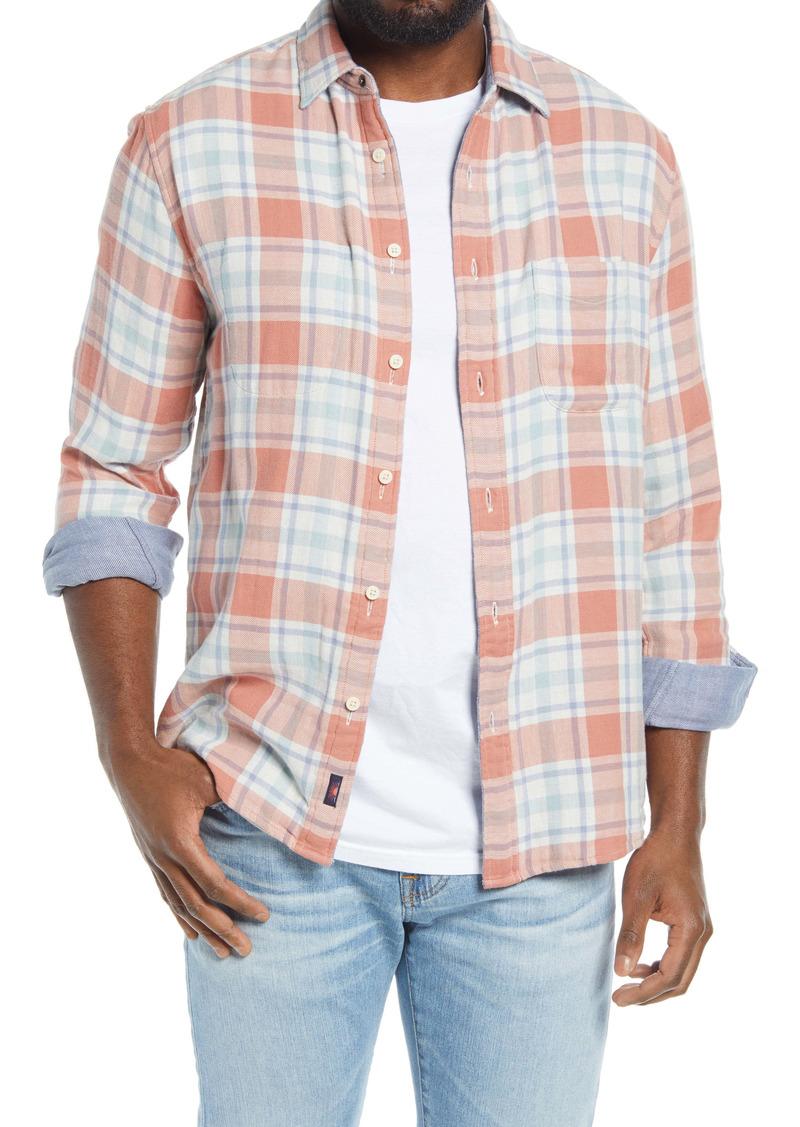 Faherty Belmar Reversible Button-Up Shirt