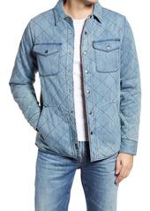 Faherty Bondi Reversible Organic Cotton Shirt Jacket