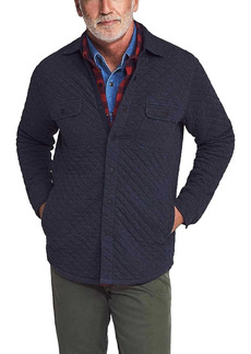 Faherty Brand Epic Quilted Fleece Cotton Blend Jacket