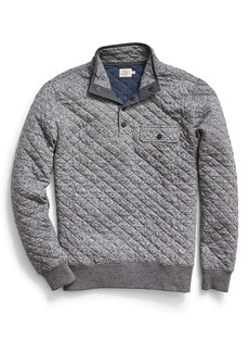 Faherty Brand Epic Quilted Fleece Pullover