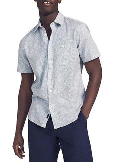 Faherty Brand Playa Print Short Sleeve Button-Up Shirt