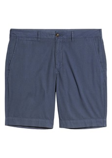 Faherty Cloud Cotton Harbor Flat Front Shorts
