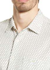 Faherty Coast Knit Short Sleeve Button-Up Shirt