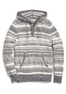 Faherty Cove Sweater Poncho