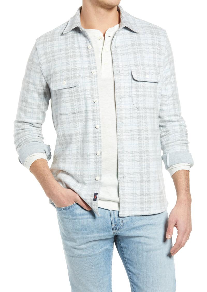 Faherty Legend Plaid Flannel Button-Up Shirt