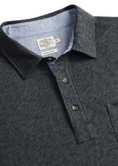 Faherty Luxe Long Sleeve Polo