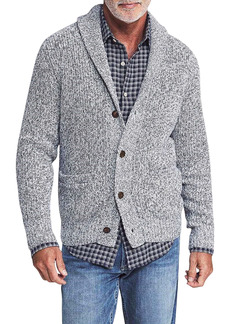 Faherty Marled Cotton & Cashmere Cardigan