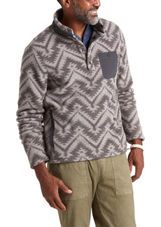 Faherty Motif Dream Fleece Pullover