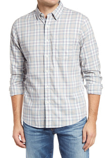 Faherty Movement Check Button-Up Shirt