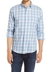 Faherty Movement Plaid Mélange Button-Up Shirt