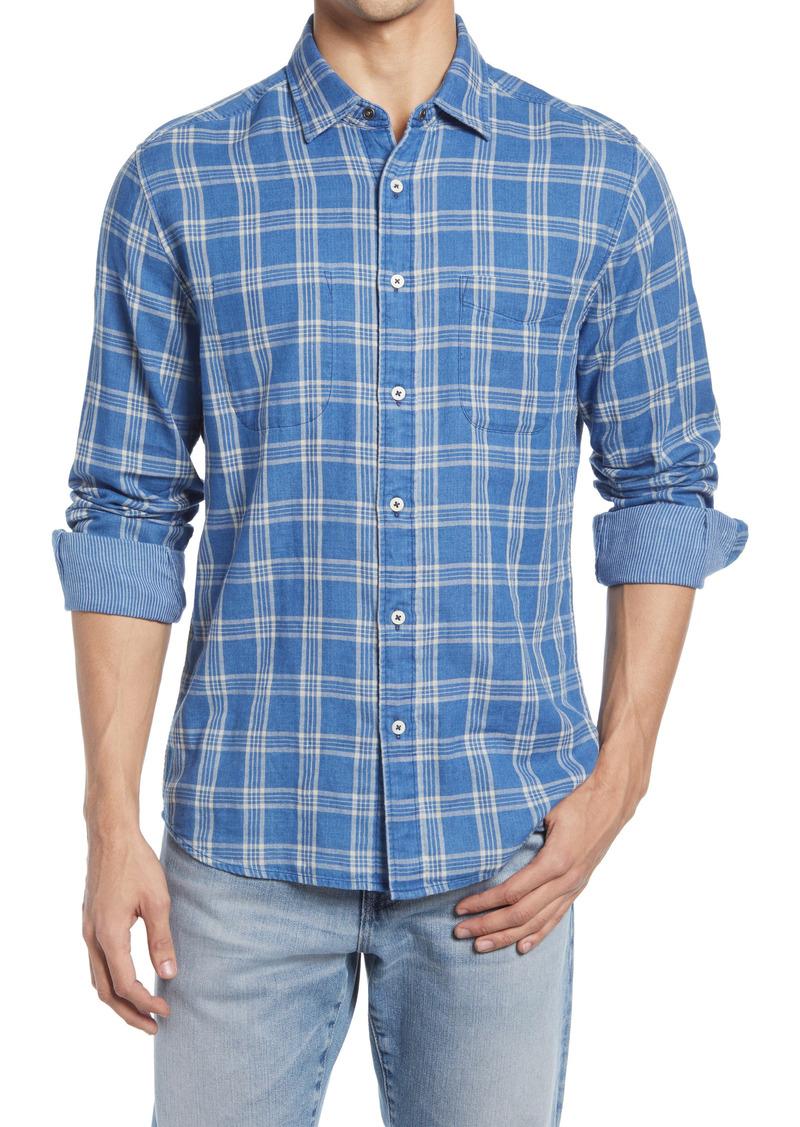 Faherty Regular Fit Reversible Button-Up Shirt