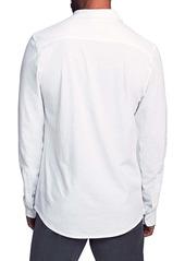 Faherty Seasons Knit Button-Up Shirt