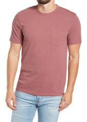 Faherty Sunwashed Organic Cotton Pocket T-Shirt