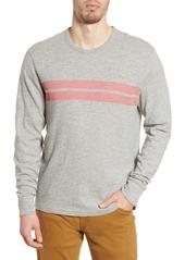 Faherty Surf Twin Stripe Long Sleeve T-Shirt