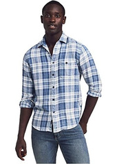 Faherty Indigo Slim Fit Shirt