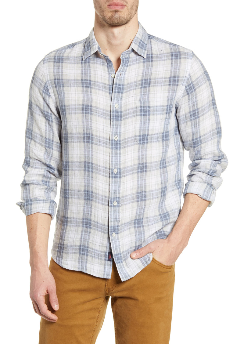 Faherty Linen Laguna Shirt
