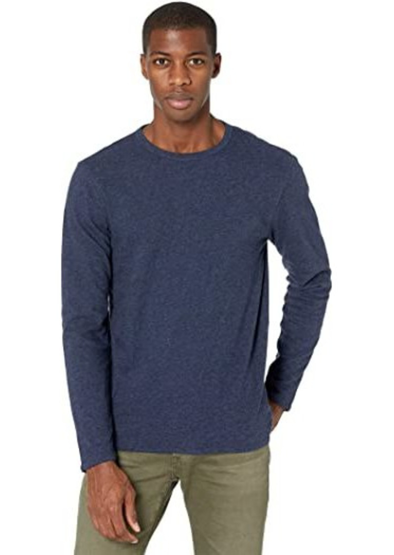 Faherty Long Sleeve Luxe Heather Reversible Tee