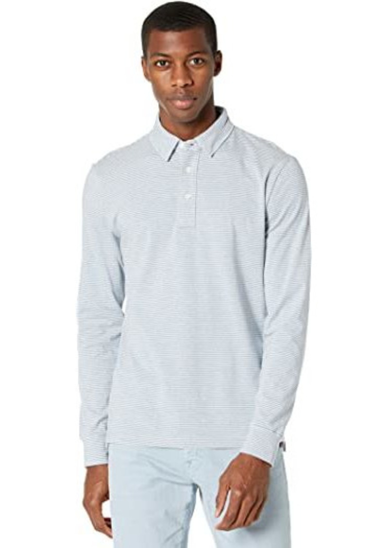 Faherty Movement Long Sleeve Polo