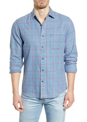 Faherty Slim Fit Check Button-Up Shirt