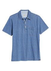 Faherty Stripe Polo