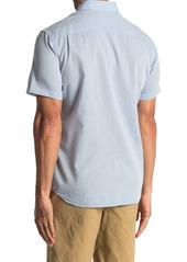 Faherty Weaver Short Sleeve Dobby Slim Fit Shirt