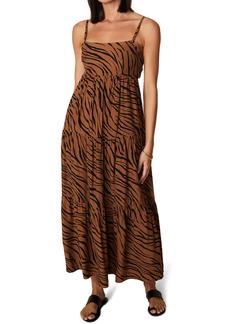 Faithfull the Brand Corvina Animal Print Dress