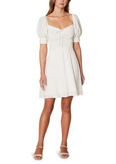 Faithfull the Brand Dulcia Floral Long Sleeve Babydoll Dress