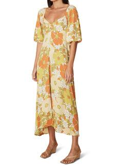 Faithfull the Brand Imane Floral Midi Dress