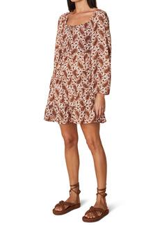 Faithfull the Brand Naline Long Sleeve Minidress