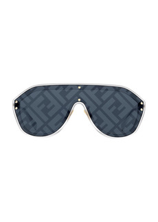 Fendi 99MM Logo Fashion Shield Sunglasses