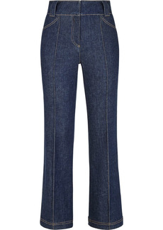 Fendi cropped bootcut jeans