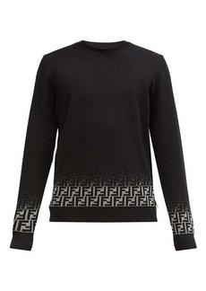 Fendi Dégradé FF-logo wool-blend sweater