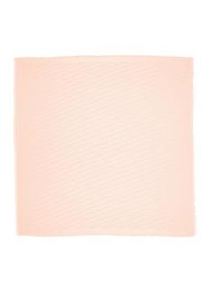 Fendi FF Logo Jacquard Silk Blend Scarf