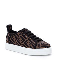 Fendi FF Logo Knit Platform Sneaker (Women)