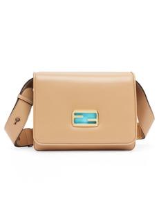 Fendi Large Leather Shoulder Bag
