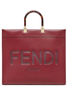 Fendi Large Sunshine Leather Shopper