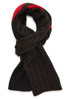 Fendi Men's FF Wool Scarf