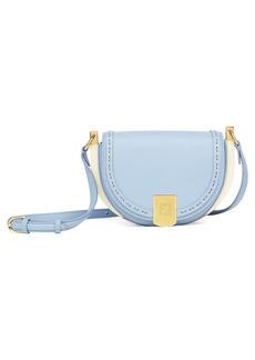 Fendi Moonlight Leather Saddle Bag