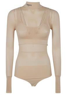 Fendi Perforated Bodysuit