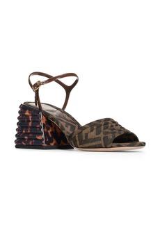 Fendi Promenade Block Heel Sandal (Women)