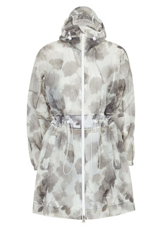 Fendi Shady Flower Organza Parka